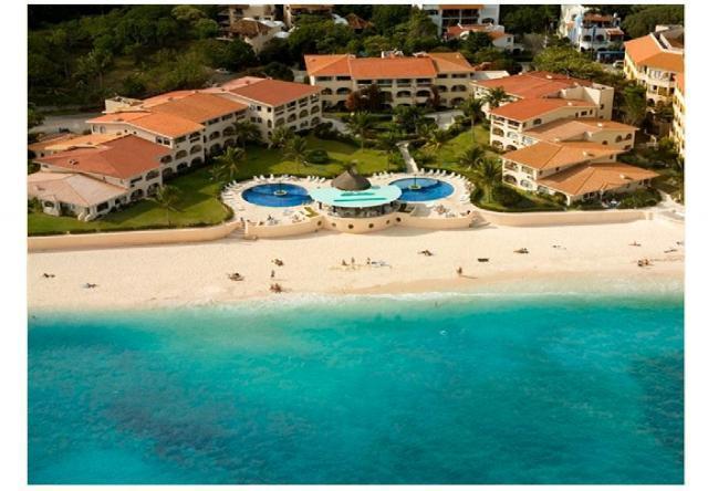 Aerial view Xaman Ha Grand Penthouse - Beach Front Grand Penthouse Xaman Ha 3br walk2 5th - Playa del Carmen - rentals