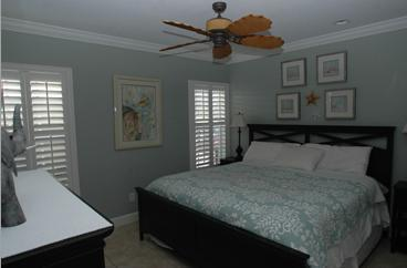 Master Bedroom - 3 Bedroom Beach Suite - Siesta Key - rentals
