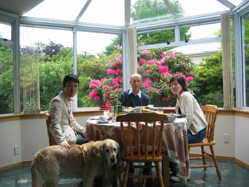 Sun room lunch. - CanNZ Christchurch Bed & Breakfast - Christchurch - rentals