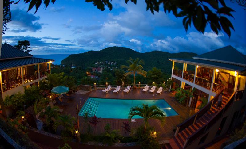 VILLA MAKAMBU- Charming-Spacious-Spectacular Views - Image 1 - Marigot Bay - rentals