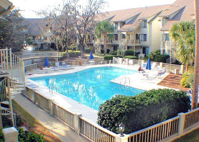 Courtside 55 Updated Kitchen - Courtside 55 - Forest Beach 1st Floor Flat - Hilton Head - rentals
