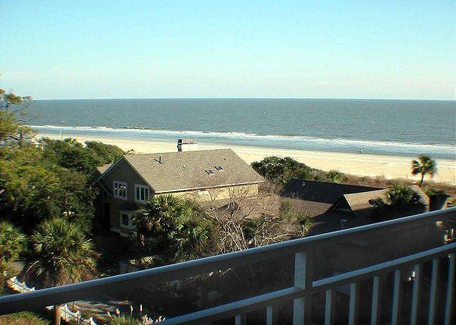 Sea Crest 2509 View from Balcony - Sea Crest 2509 - Oceanview 5th Floor Condo - Hilton Head - rentals