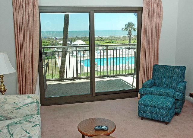 Ocean One 209 - Oceanfront 2nd Floor Condo - Image 1 - Hilton Head - rentals