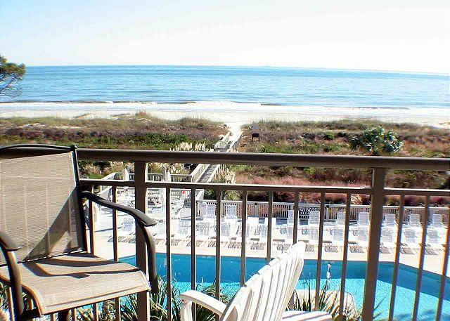 Ocean One 411 - Stunning Ocean Views from 4th Floor - Image 1 - Hilton Head - rentals