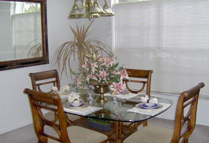 Dining Area - Special -Very Basic Budget 3 Bedroom- $98 a night all yr - Kissimmee - rentals