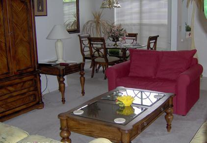 Living Room - Special -Budget 3 Bed- $98 a night/free wifi - Kissimmee - rentals
