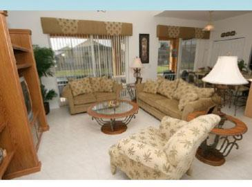 Living Room - SALE 15% off rates book for 2016 with 2015 rates - Kissimmee - rentals