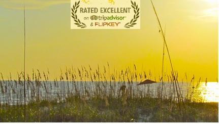 Almost sunset on our Anna Maria Island beach - Anna Maria Island Beachfront - Excellence Award - Holmes Beach - rentals