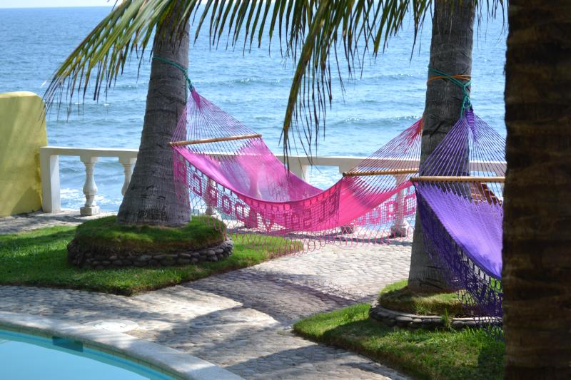 Hammock Haven! Does it get any better than this? - DREAMY SURF BEACHFRONT House in Gated Community - Puerto de la Libertad - rentals