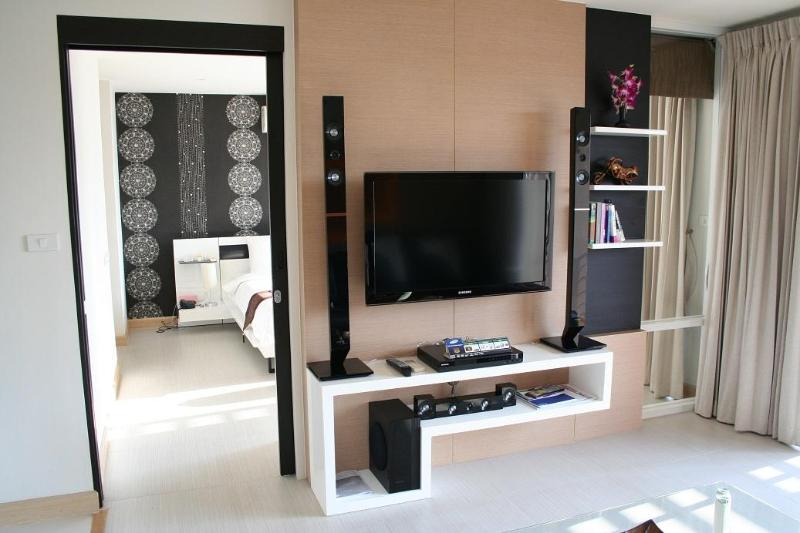 livingroom - beautiful 1-bedroom condo in the  heart of hua hin - Hua Hin - rentals