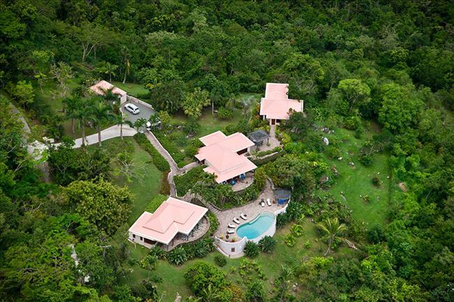 Canefield House at Greenbank Estate, Tortola - Ocean View, Pool, Private Park-Like Setting - Image 1 - Tortola - rentals