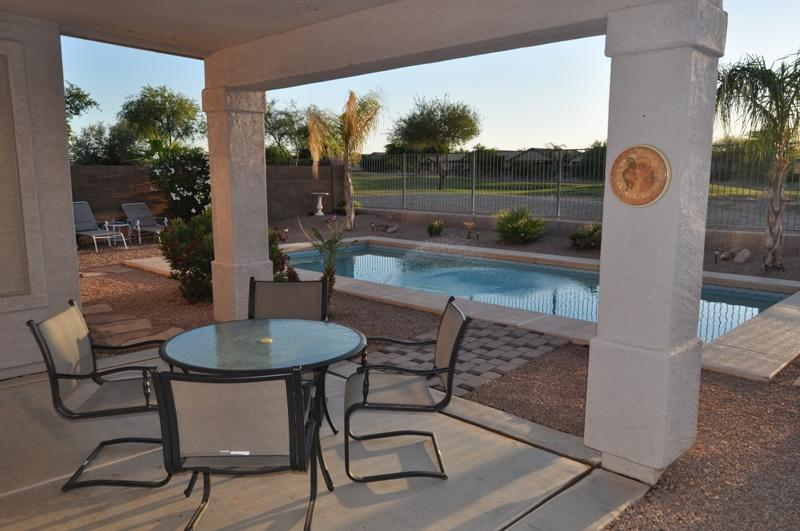 Beautiful peaceful backyard - Heated Pool Fantastic view home on the Golf Course - Queen Creek - rentals
