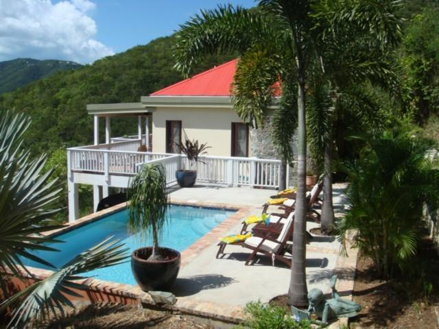 Bo Atabey a private location with sundrenched Pool - Bo Atabey Quiet-Private Pool-2 King Suites-Views - Coral Bay - rentals