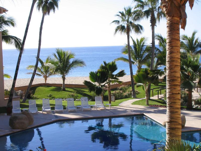 view from deck-wonderful spot to sip margaritas - San Jose Del Cabo - La Jolla Condo - San Jose Del Cabo - rentals