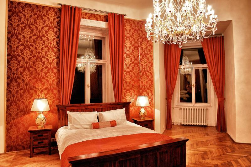 Bedroom 1 - Budapest Grand Luxury Apartment 180sqm - Budapest - rentals