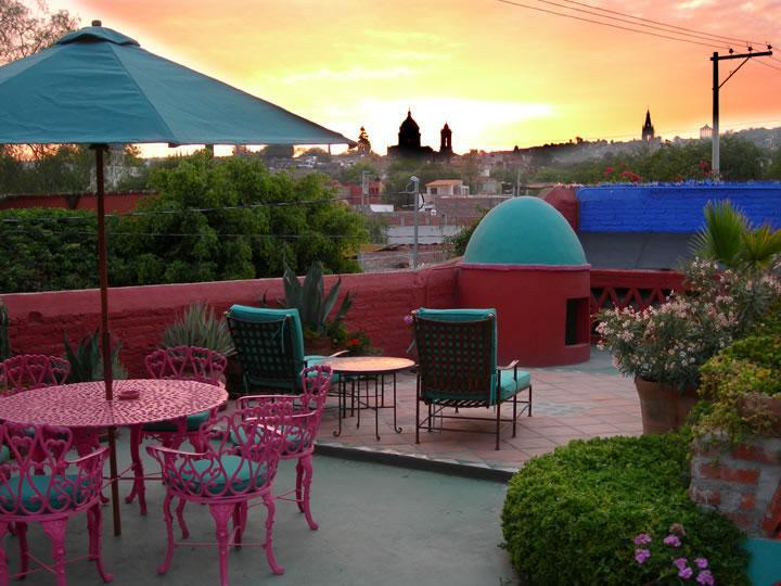 Bienvenido a las San Miguel De Allende! View from Terrazza of Casa del Alma - Casa del Alma Will Lift Your Spirits - San Miguel de Allende - rentals
