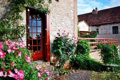 The artist's studio and the terrace. - B & B in the land of Lascaux & Lautrec (Lot). - Montcabrier - rentals