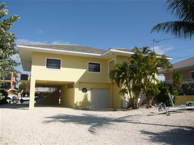 View from Street - TWICE THE CHARM - Key Largo - rentals
