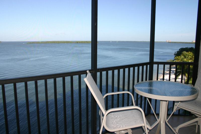 Bay View from Lanai - SHR 2 Bedroom Water Front Condo-Great Summer Rates - Fort Myers - rentals