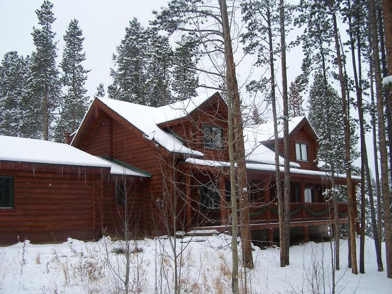 Moose Mountain Lodge, Breckenridge, Colorado - Peak 7 Log Home, Sleeps 14, Hot tub, wifi, HBO - Breckenridge - rentals