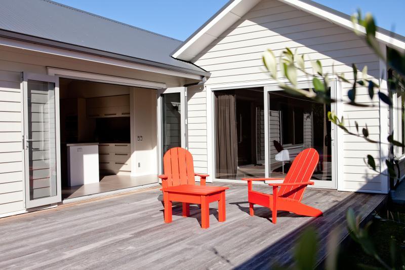 Deck - Aotearosa: Boutique holiday home, Wanaka NZL - Wanaka - rentals