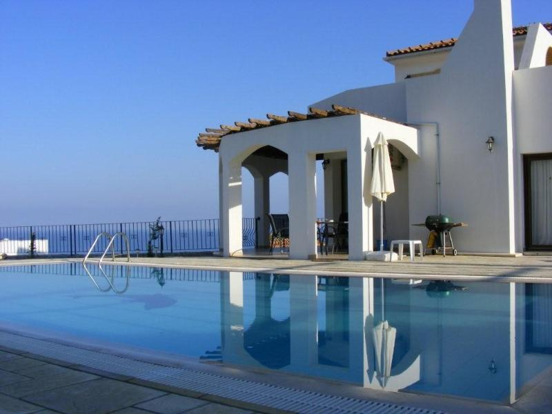 Private pool with sea and mountain views - Sunset Valley Villa 3 Bed, Pool, Stunning Location - Kyrenia - rentals