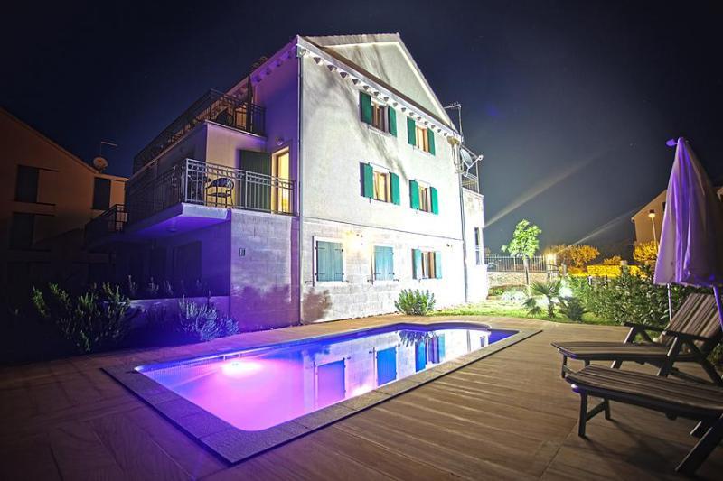 Villa Milena at night - Villa Milena 2 Bed - Brac - rentals