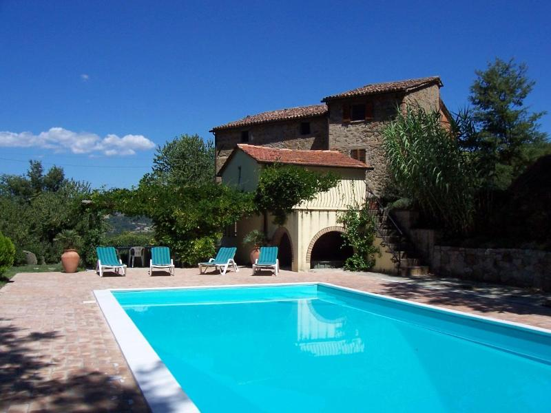 The Pool - Large Villa with Private Pool and Stunning Views - Citta di Castello - rentals