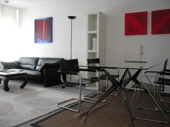 Living Room (1) - LLAG Luxury Vacation Apartment in Freiburg im Breisgau - 592 sqft, near vineyards and forest, city train… - Freiburg im Breisgau - rentals