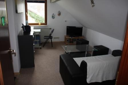 Living Room (1) - Vacation Apartment in Königsbronn - 484 sqft, terrace with grill, swings for children (# 1798) - Koenigsbronn - rentals