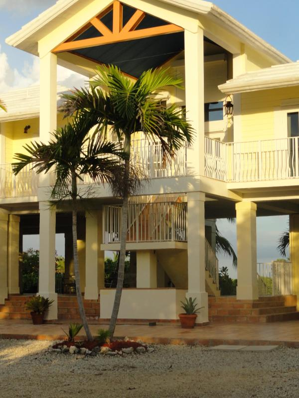 ENTRANCE TO THE HOUSE - Waterfront Luxury Home Incredible Views, WiFi - Key Largo - rentals