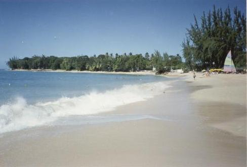 Walk for miles on the sandy coral beach, 4-5 minute walk from the apartment. - Awesome Tropical Vacation Apartment - Holetown - rentals