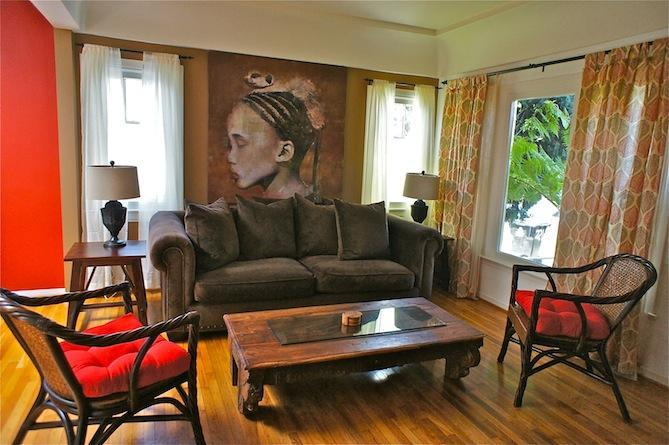 Zen Living Room - 6th Avenue Venice Zen Retreat - Los Angeles - rentals