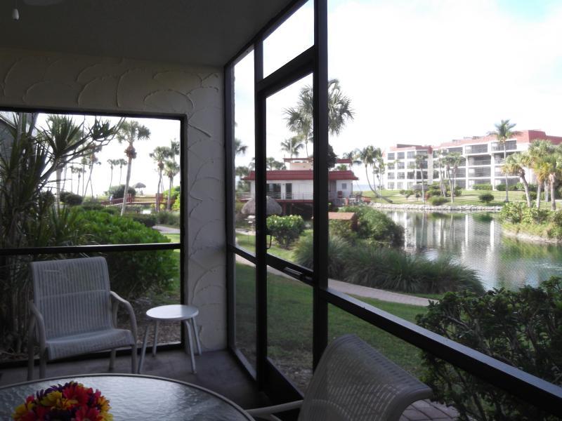 View from walkout Lanai - Pointe Santo Ground Floor Walk-Out - Sanibel Island - rentals