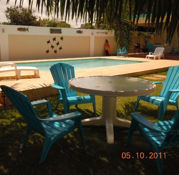 Pool area - Queen Angel Fish Villa - Aguadilla - rentals