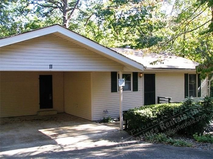 Front v1 - 11MariLn | Lake DeSoto Area | Home| Sleeps 6 - Hot Springs Village - rentals