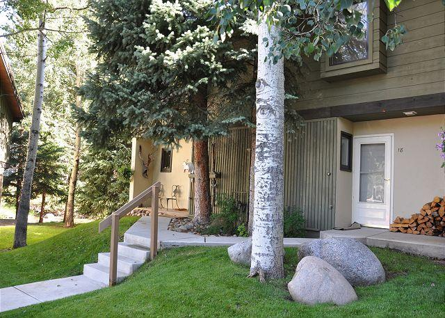 Exterior of Ptarmigan #18 - Very nice remodeled Gold rated home on the Gore Creek. 3 bedrooms with a loft - Vail - rentals