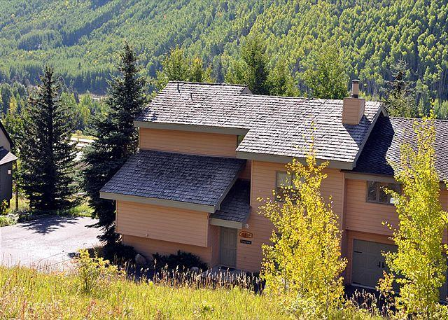 Exterior of house - 2620 Bald Mountain Road -Gorgeous views from this home in East Vail - Vail - rentals