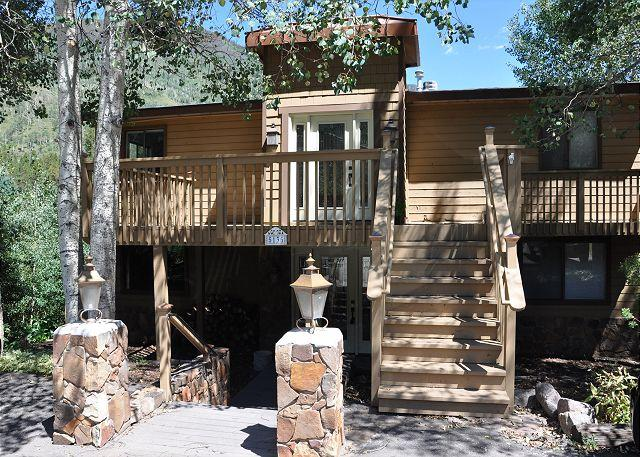 Exterior of 5135 Black Bear Lane - 5135 Black Bear Lane - Beautiful Duplex in East Vail - Vail - rentals