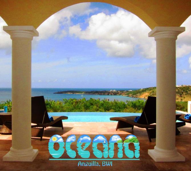 View from great room - Oceana Villa Anguilla - Brand New 2 bedroom - The Valley - rentals