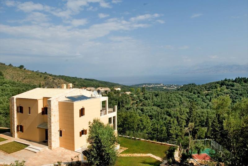Luxury Greek Island Villa with Private Pool on Corfu - Bella Vista - Image 1 - Corfu - rentals