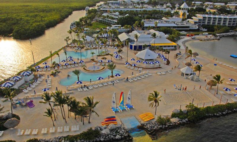 aerial - 1/1 Condo in Ocean Front  Community - Key Largo - Key Largo - rentals