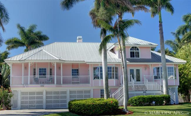 THE PINK BEACH HOUSE - Image 1 - Marco Island - rentals