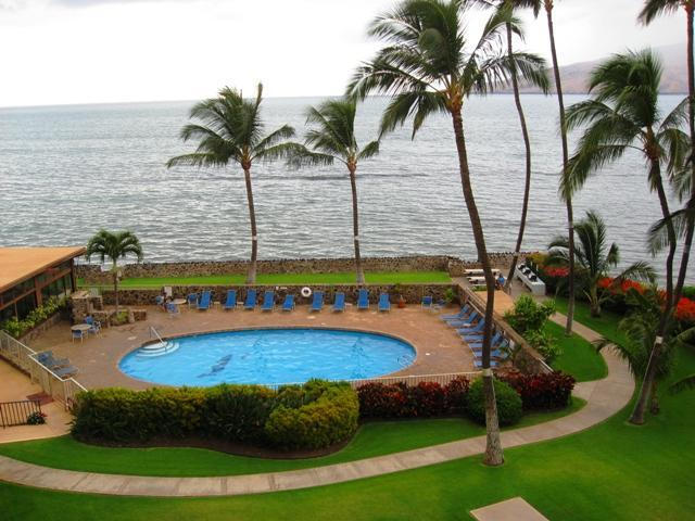 The view from our Lanai - On the Beach-2BR/Sleeps 6**September Sale Time**, - Kihei - rentals