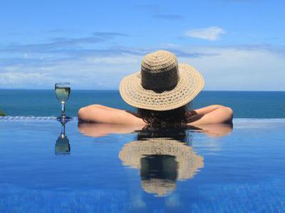 Your private infinity pool - Oceanfront Villa w/pool in Private Gated Community - Tola - rentals