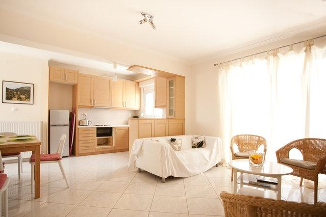 Athens  modern family apartment, 2 bedroom,WIFI,AC - Image 1 - Athens - rentals