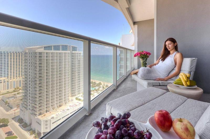 View from the Terrace - W Fort Lauderdale Private PentHouse (2406) - Fort Lauderdale - rentals