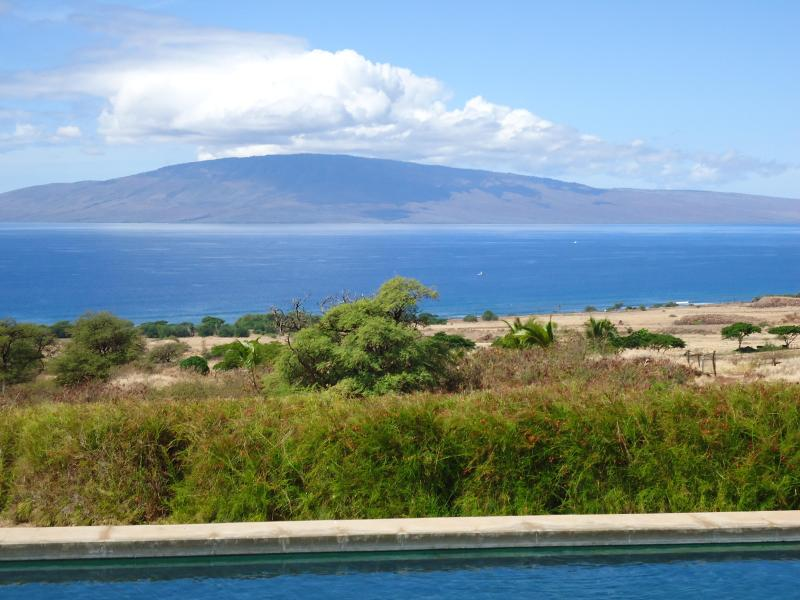 view of Lahaina bay from pool deck - Maui Dream Custom Villa with great ocean views - Lahaina - rentals