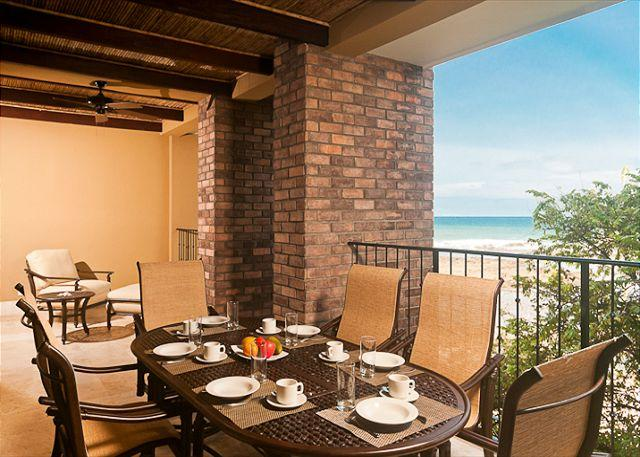 Terrace with ocean view - Tropical Elegance and ocean views on the beach in Tamarindo - Tamarindo - rentals