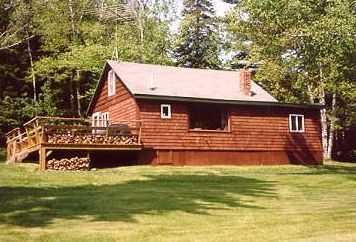 Cabin from Road - Meadowood Cabin, Rangeley Relaxation at it's Best! - Rangeley - rentals
